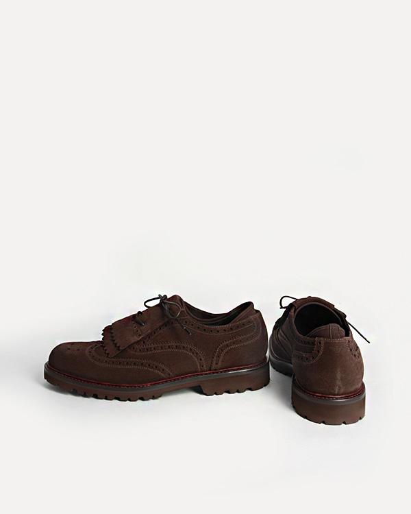 мужская туфли EMPORIO ARMANI, сезон: зима 2012/13. Купить за 13600 руб. | Фото 3
