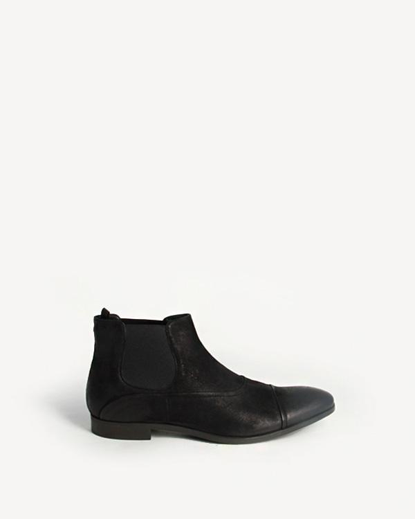 мужская ботинки EMPORIO ARMANI, сезон: зима 2012/13. Купить за 8200 руб. | Фото 1