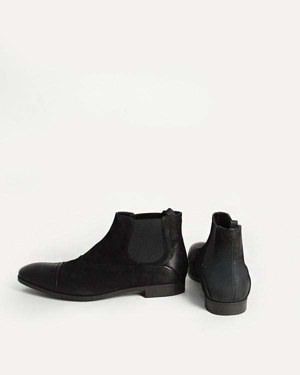 мужская ботинки EMPORIO ARMANI, сезон: зима 2012/13. Купить за 8200 руб. | Фото 3