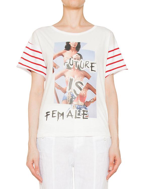 футболка  артикул Y7PJ10 марки SEMI-COUTURE купить за 4500 руб.