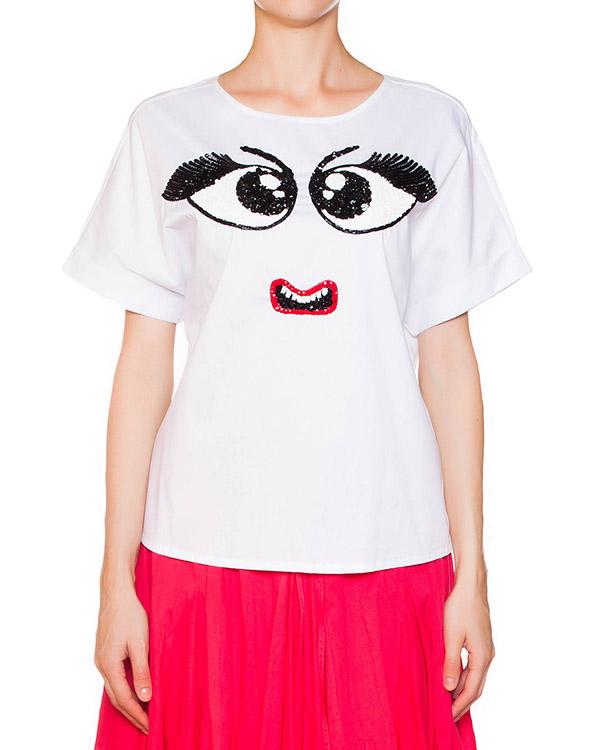 женская футболка P.A.R.O.S.H., сезон: лето 2015. Купить за 9200 руб.   Фото $i