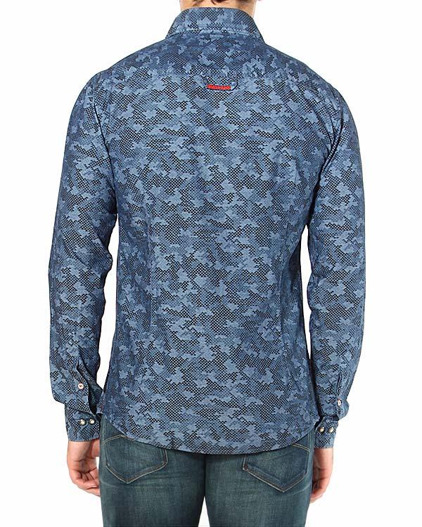мужская рубашка ARMANI JEANS, сезон: зима 2014/15. Купить за 6600 руб. | Фото $i