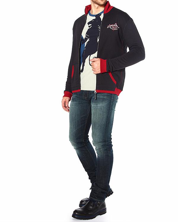 мужская олимпийка ARMANI JEANS, сезон: зима 2014/15. Купить за 6600 руб. | Фото 3