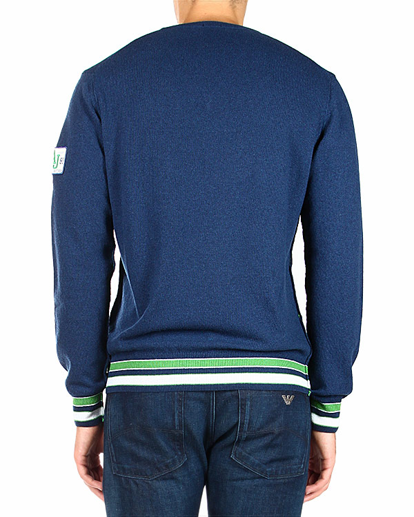мужская пуловер ARMANI JEANS, сезон: зима 2014/15. Купить за 5900 руб. | Фото 2
