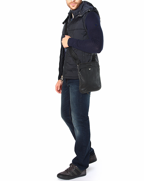 мужская жилет ARMANI JEANS, сезон: зима 2014/15. Купить за 8100 руб. | Фото 3