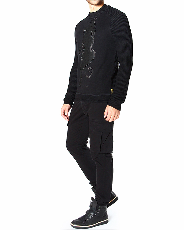 мужская пуловер ARMANI JEANS, сезон: зима 2014/15. Купить за 7600 руб. | Фото 3