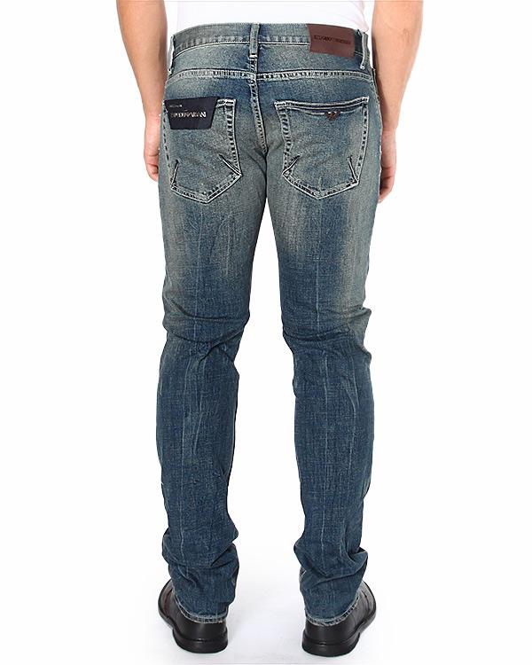 мужская джинсы EMPORIO ARMANI, сезон: зима 2014/15. Купить за 9100 руб. | Фото $i