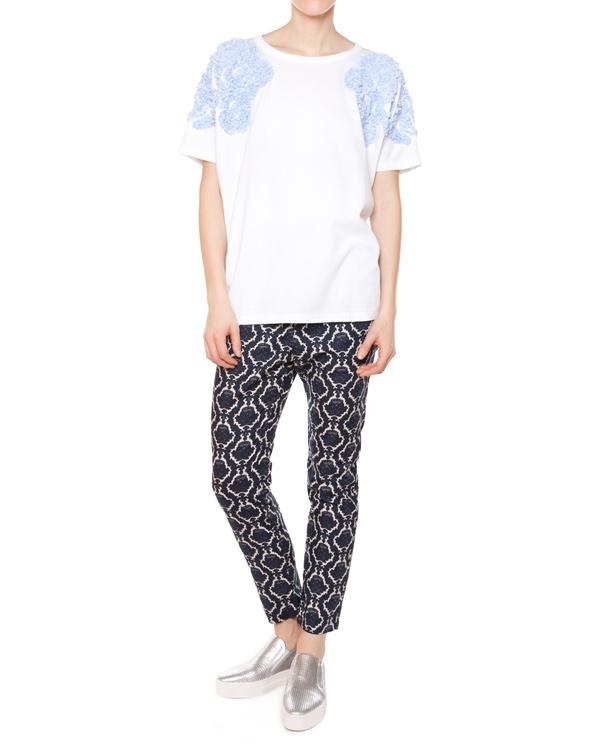 женская брюки ZUCCA, сезон: лето 2015. Купить за 16100 руб. | Фото 3
