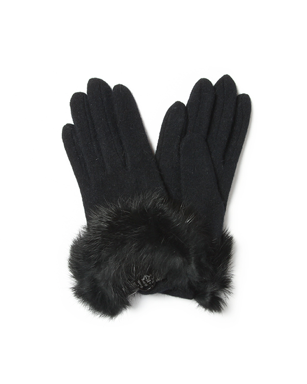 аксессуары перчатки ARMANI JEANS, сезон: зима 2014/15. Купить за 2200 руб.   Фото 1