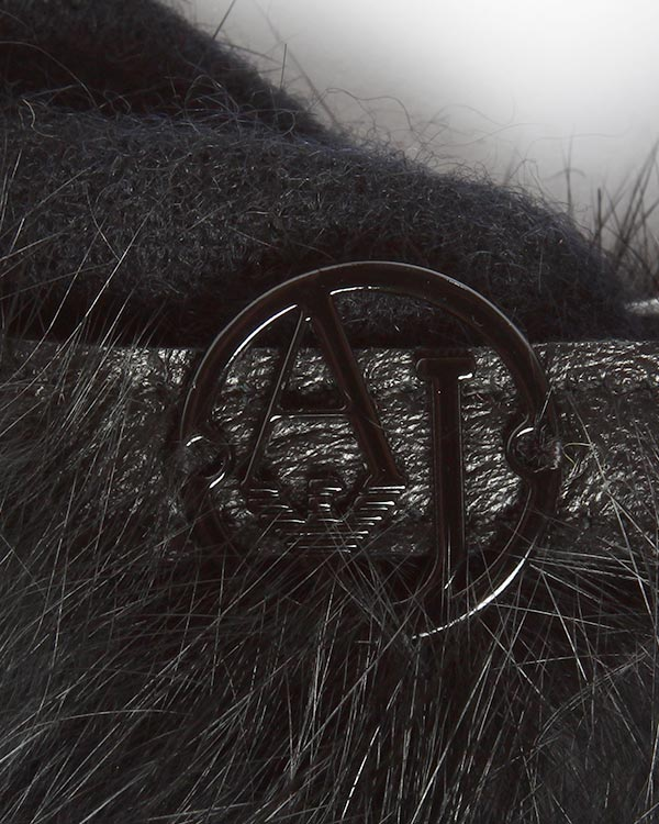 аксессуары перчатки ARMANI JEANS, сезон: зима 2014/15. Купить за 2200 руб.   Фото 2