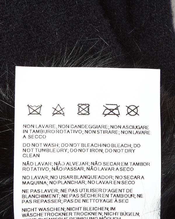 аксессуары перчатки ARMANI JEANS, сезон: зима 2014/15. Купить за 2200 руб.   Фото 4