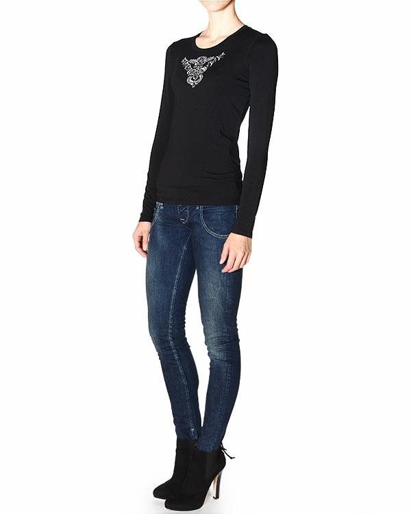 женская футболка ARMANI JEANS, сезон: зима 2014/15. Купить за 3100 руб. | Фото 3