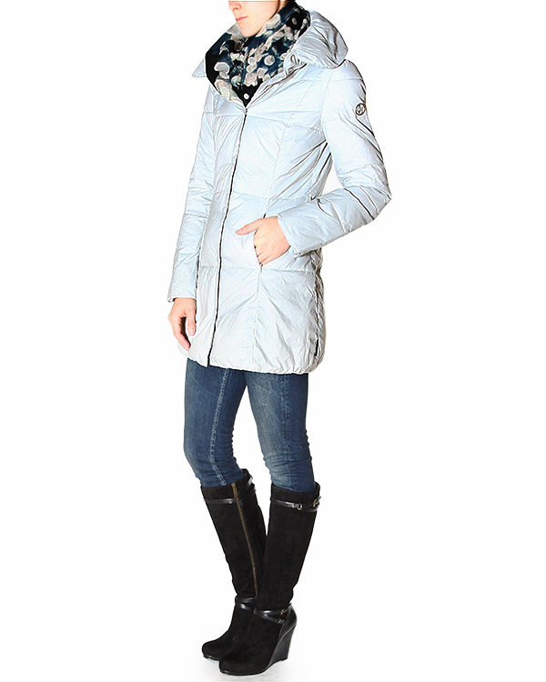 женская куртка ARMANI JEANS, сезон: зима 2014/15. Купить за 9800 руб. | Фото 3
