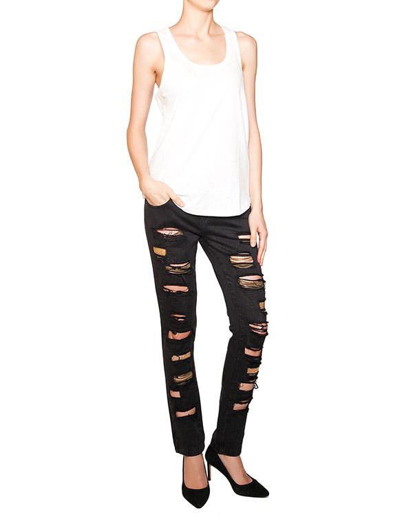 женская джинсы JO NO FUI, сезон: лето 2010. Купить за 14000 руб. | Фото 3