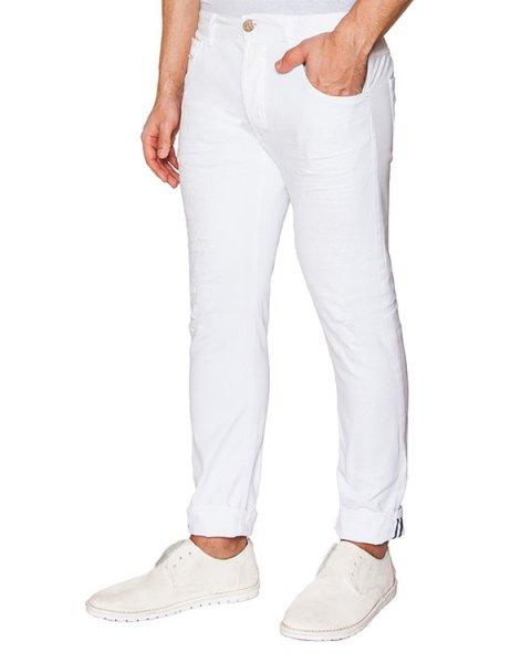 джинсы из эластичного денима артикул 03103PAULL30262 марки P.M.D.S купить за 6600 руб.
