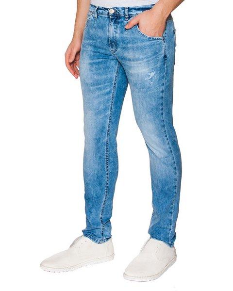 джинсы зауженного кроя из денима артикул 03316MIKE237 марки P.M.D.S купить за 5700 руб.
