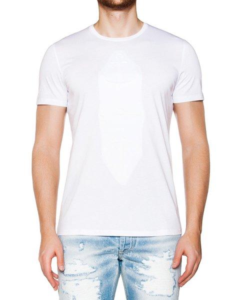 футболка из мягкого хлопкового трикотажа с фактурным узором артикул 03338ANCHORS марки P.M.D.S купить за 4000 руб.