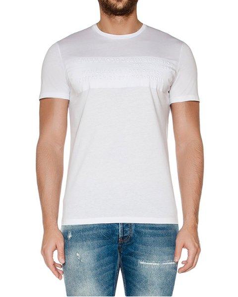 футболка из мягкого хлопкового трикотажа с фактурной отделкой артикул 03438TS марки P.M.D.S купить за 4000 руб.