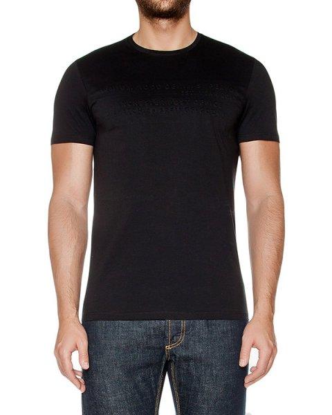 футболка из мягкого хлопкового трикотажа с фактурной отделкой артикул 03438TS марки P.M.D.S купить за 8000 руб.