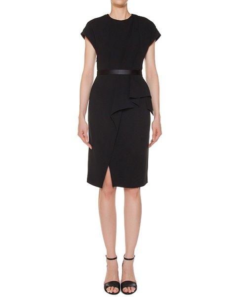 платье из плотного трикотажа с оборками артикул 106891 марки Alexander Wang купить за 60000 руб.