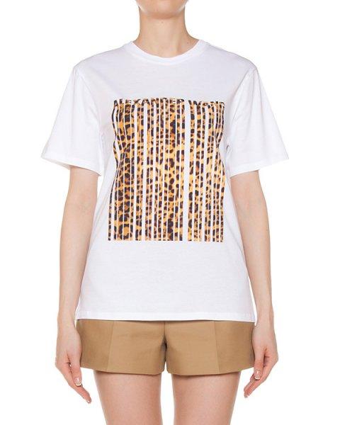 футболка из хлопка с принтом артикул 109980 марки Alexander Wang купить за 15800 руб.