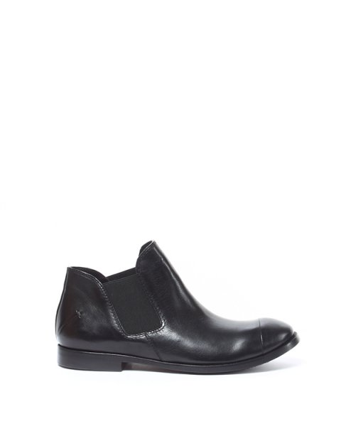 ботинки из натуральной гладкой кожи с эластичными вставками по бокам артикул 1115913 марки CoSTUME NATIONAL купить за 19700 руб.