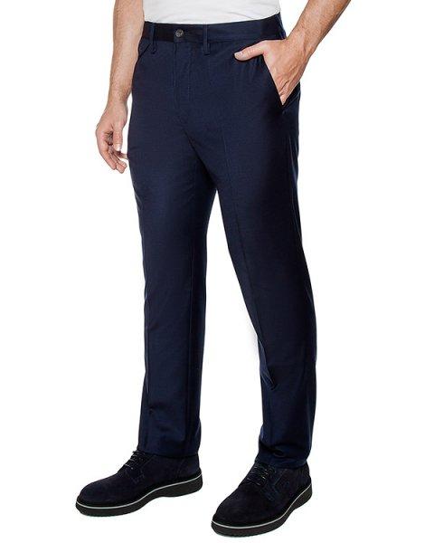 брюки классического кроя из вирджинской шерсти артикул 113601 марки Cortigiani купить за 29400 руб.