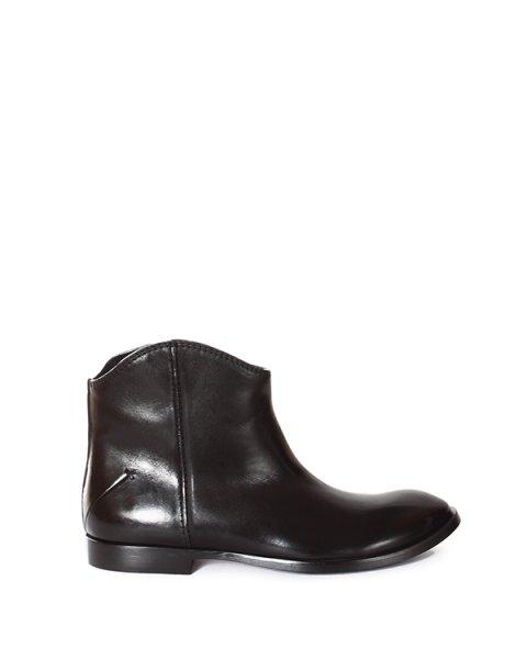 ботинки из натуральной глянцевой кожи артикул 1140509 марки CoSTUME NATIONAL купить за 22600 руб.