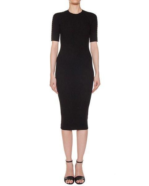 платье трикотажное с металлической фурнитурой артикул 116089 марки Alexander Wang купить за 33300 руб.