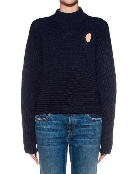свитер крупной вязки артикул 119064P16 марки Alexander Wang купить за 32300 руб.