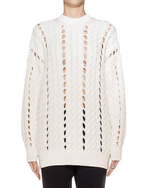 свитер удлиненный, крупной вязки артикул 119077P16 марки Alexander Wang купить за 37400 руб.