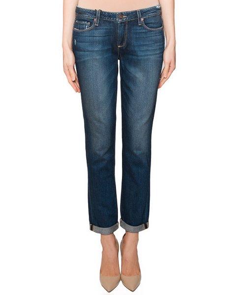 джинсы прямого кроя из плотного денима артикул 1193712 марки Paige купить за 11300 руб.