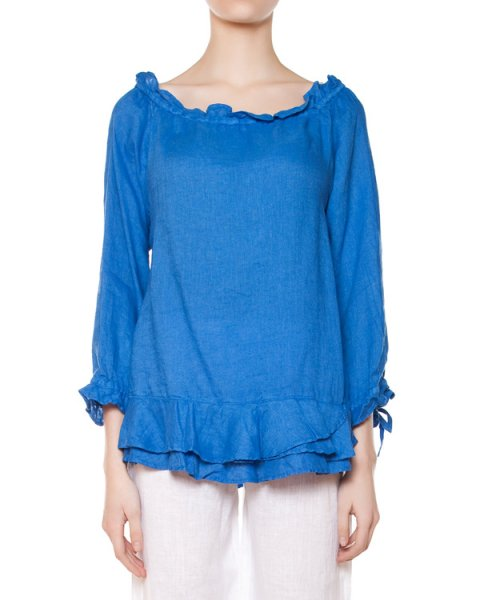 блуза  артикул 1216D703 марки 120% lino купить за 6400 руб.