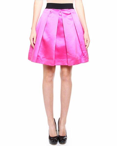 юбка с посадкой на талии, объемного силуэта артикул 14JSK04DUC53 марки SI-JAY купить за 8100 руб.