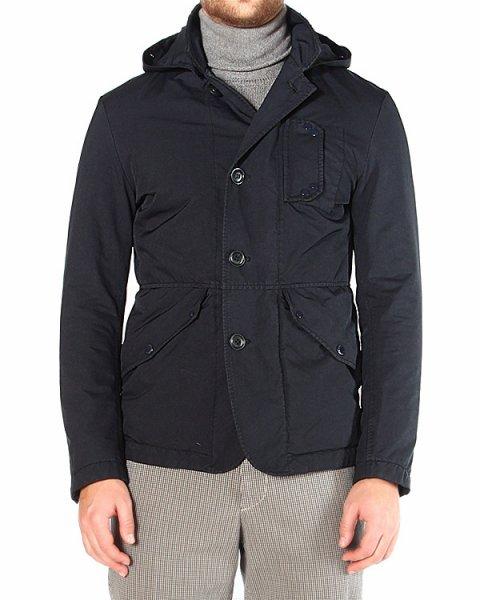куртка однобортный, с капюшоном с имитацией защитных очков артикул 14WCPUB02108 марки C.P.Company купить за 30600 руб.