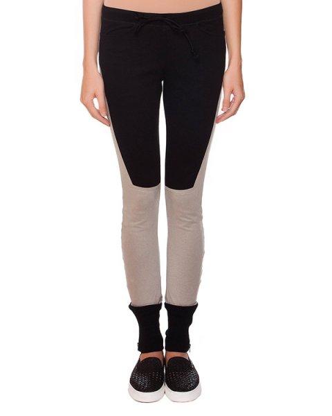 брюки в спортивном стиле из мягкого хлопкового трикотажа артикул 15231659R марки Lost&Found купить за 13300 руб.