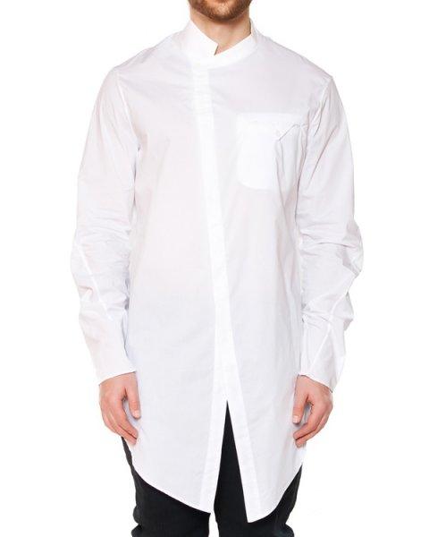 рубашка асимметричного кроя из хлопка артикул 15237310 марки Lost&Found купить за 24100 руб.