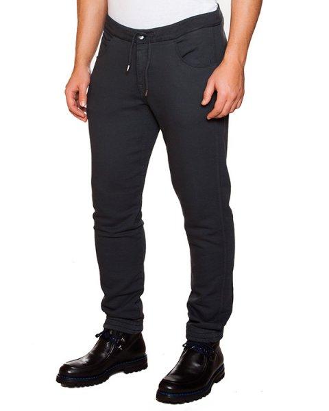 брюки из плотного эластичного хлопка артикул 15WCPUP01295 марки C.P.Company купить за 6500 руб.