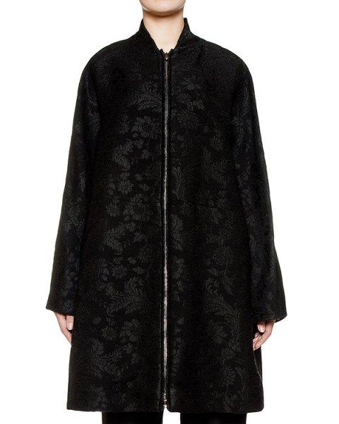 пальто из плотной шерсти с фактурным рисунком артикул 168004 марки Sonia Speciale купить за 96000 руб.