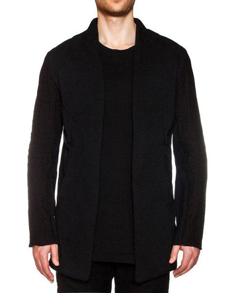 пиджак оригинального кроя из плотного льна артикул 16MJARO16 марки Andrea Ya'aqov купить за 28600 руб.