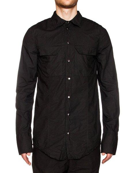 рубашка из жатого хлопка, снизу на спине дополнена вставкой из льна  артикул 16WARO21 марки Andrea Ya'aqov купить за 20900 руб.