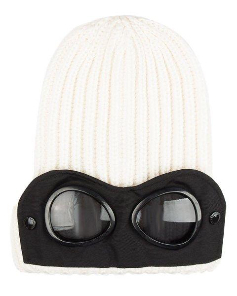 шапка вязаная со съемной деталью  артикул 16WCPUA05262 марки C.P.Company купить за 10200 руб.