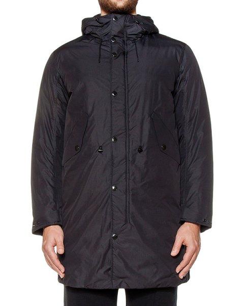 пальто из плотной водоотталкивающей ткани, капюшон с имитацией защитных очков артикул 16WCPUK03051 марки C.P.Company купить за 40400 руб.