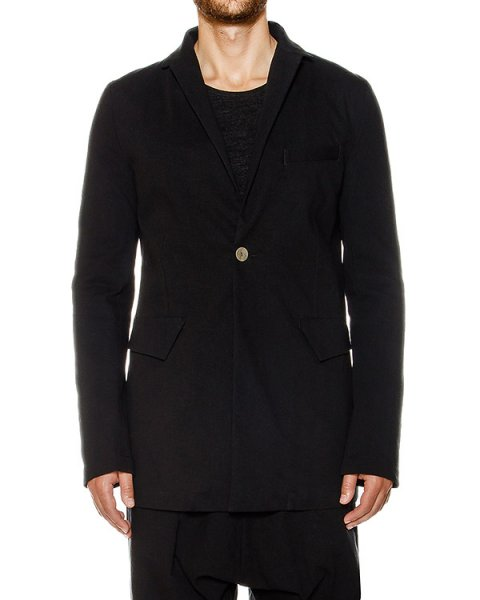 пиджак из плотного хлопка и шерсти артикул 17MFAB04 марки Andrea Ya'aqov купить за 33600 руб.