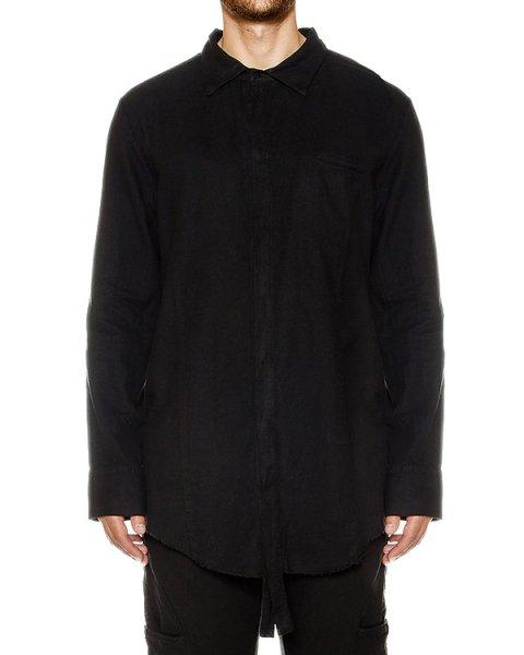 рубашка свободного кроя из мягкого хлопка артикул 17MFLA57 марки Andrea Ya'aqov купить за 11800 руб.