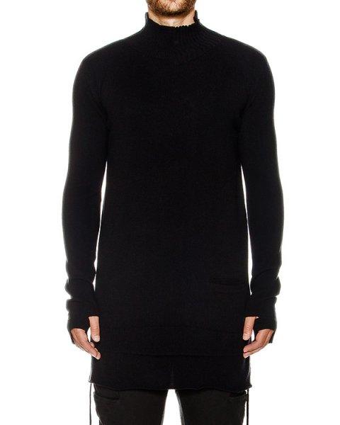свитер удлиненного кроя из шерсти и кашемира артикул 17MMAG55 марки Andrea Ya'aqov купить за 33600 руб.