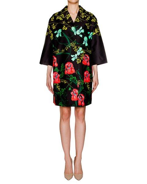 пальто из плотной хлопковой ткани с цветочным принтом артикул 1H9106 марки Antonio Marras купить за 26200 руб.