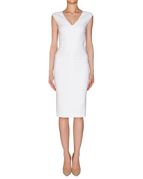 платье приталенного кроя из эластичной хлопковой ткани артикул 1H9310 марки Antonio Marras купить за 13200 руб.