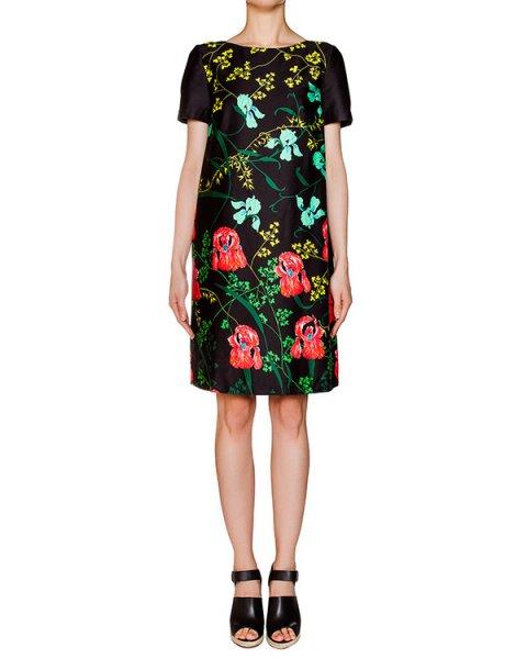 платье из плотного хлопка с цветочным принтом артикул 1H9330 марки Antonio Marras купить за 13700 руб.