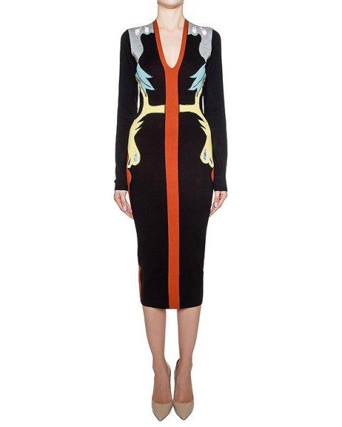 платье из мягкого трикотажа с контрастным рисунком артикул 1I9333 марки Antonio Marras купить за 50200 руб.